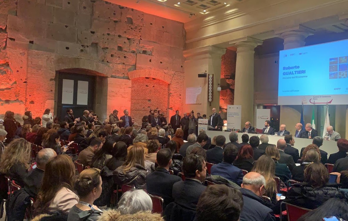 Convegno Un nuovo bilancio europeo all'altezza delle sfide per l'occupazione, la crescita e la sostenibilità