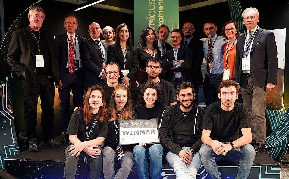 I vincitori del Copernicus Hackathon di Vicenza