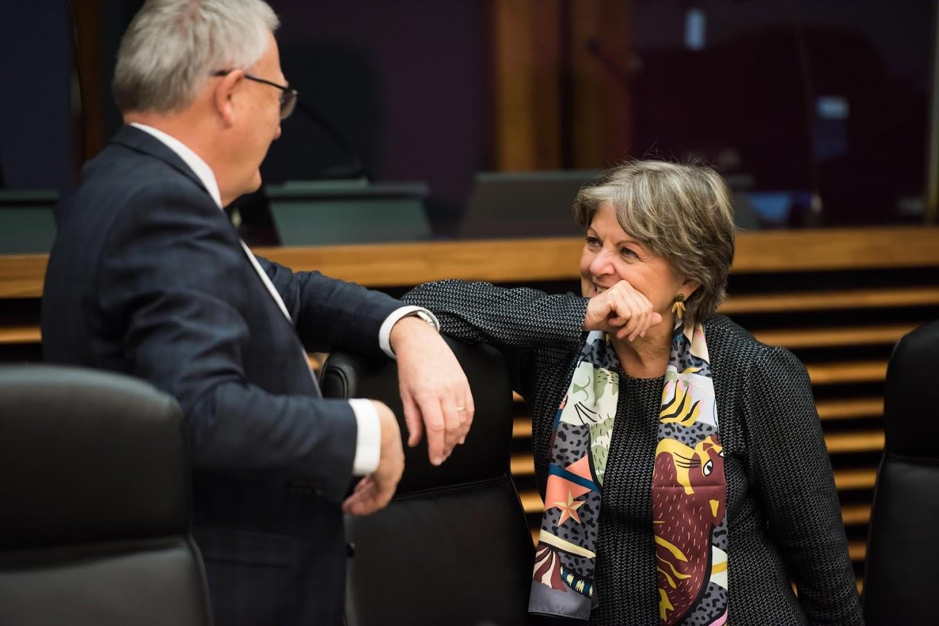 Commissari Ferreira e Schmit - Photo credit: European Union 2019 Photographer: Aurore Martignoni