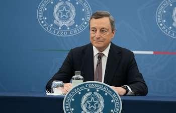 Conferenza stampa Draghi - Photo credit: Palazzo Chigi